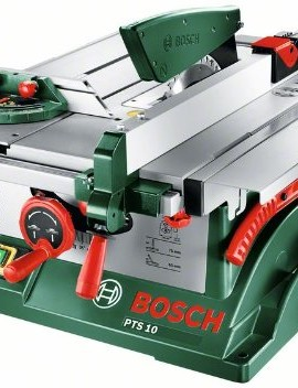 Banco sega Bosch PTS 10 1400W 254mm