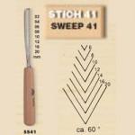 Stubai-554106-Sgorbia-con-Manico-Affilata-Modello-41-Lunga-6-mm