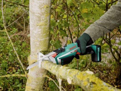 Sega a gattuccio da giardinaggio Bosch KEO a batteria