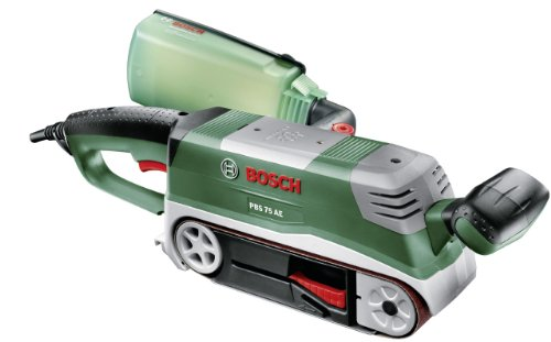 Levigatrice a nastro Bosch PBS 75 AE SET Compact Expert