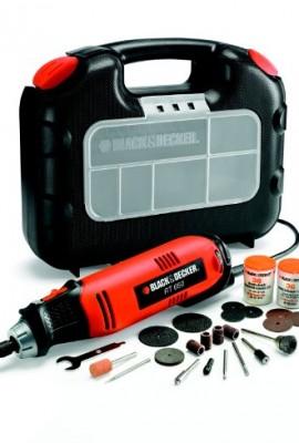 Mini Trapano Black&Decker RT650KA-QS Utensile Rotativo con 87 Accessori e Valigetta