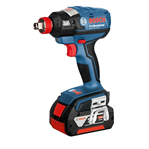 Bosch GDX 18V EC Professional Cordless Impact Wrench with. -
