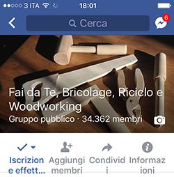 Gruppo Facebook Fai da Te
